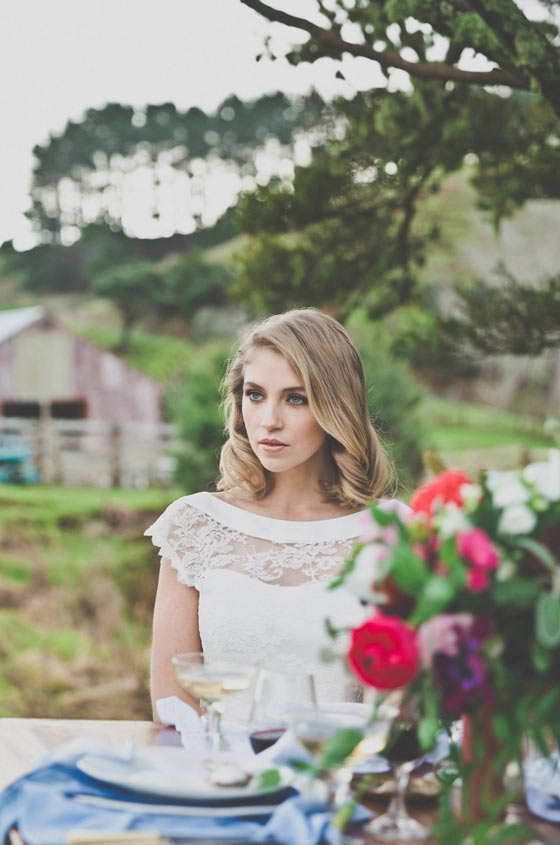 Bridal makeup by Masa Milnovic styling by One Lovely Day with Magnolia Kitchen